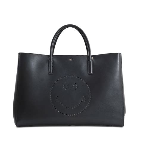 Tote Sneaker Smile anya hindmarch ebury maxi featherweight smiley tote in