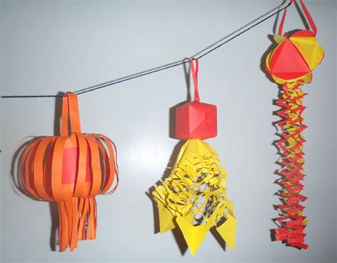 new year lanterns arts and crafts how to make paper lantern decorations for new year