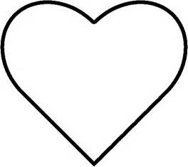 heart template large