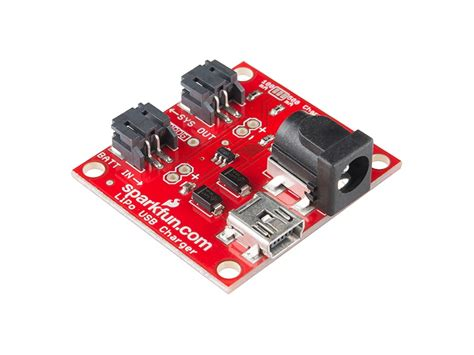 Sparkfun Usb Lipoly Charger comprar usb lipoly charger single cell arduino