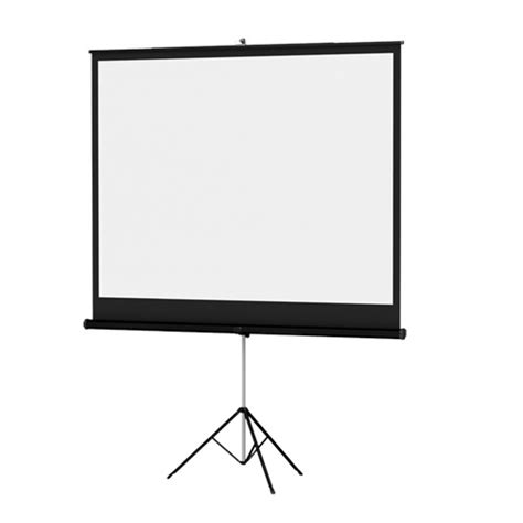 Tripod Infocus da lite 72261 white 71 quot diag 50x50 versatol tripod screen projector screen square format