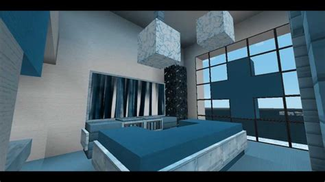 Bedroom In Minecraft by Minecraft 2 Modern Bedroom Designs