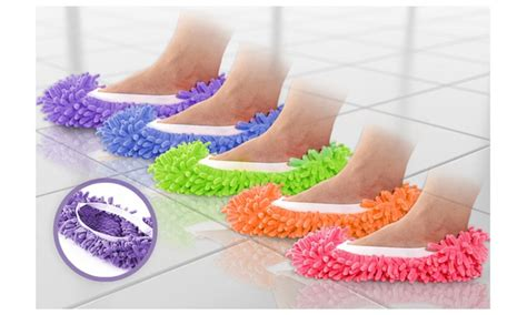 dusting slippers 58 on anti microbial microfiber flo groupon goods