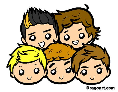 One Direction 2 dibujo de one direction 2 pintado por ailu f 98 en dibujos