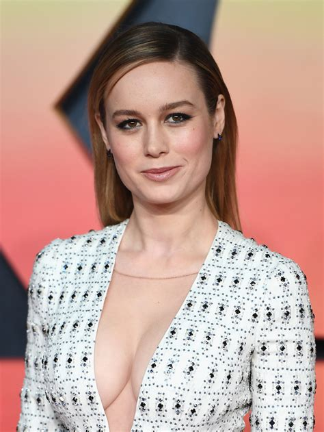 Brie Larson Brie Larson And Cleavage Will Make Your Jaw Drop