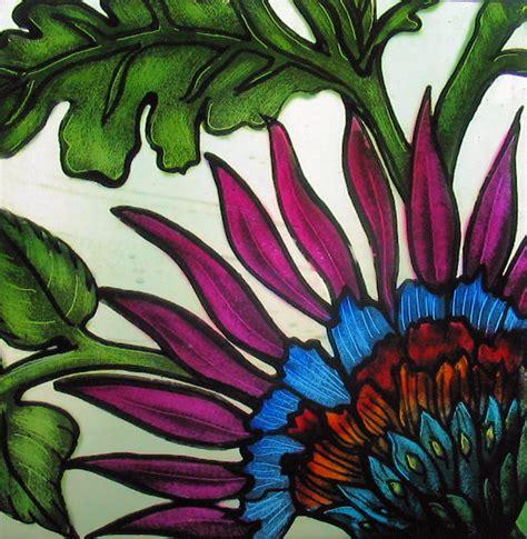 flower design in glass glass painting fusing class schedule spokane wa lost
