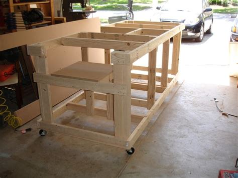 backyard workshop plans 17 best images about workshop miter saw bench on