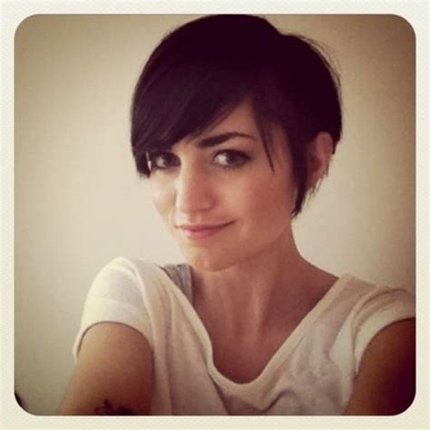 pixie cut with long bangs pinterest discover and save creative ideas