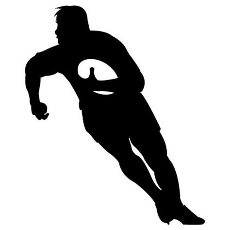 Boy Bedroom Wall Stickers rugby kicker silhouette google search cricut rugby