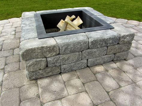 Fire Pits Mutual Materials Square Firepits