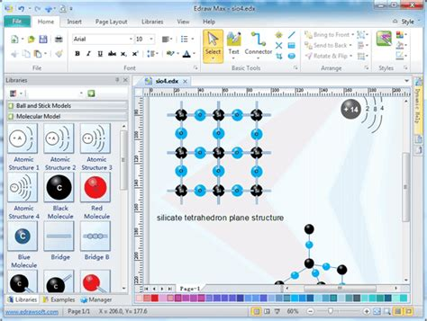 structure drawing software free molecular model diagram software free exles and