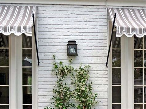 Spear Awning by 10 Easy Pieces Window Awnings Gardenista