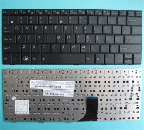 Keyboard Asus Eeepc 1005 Mp 09a33us 5282 1005ha 1005hab Us Version asus eeepc 1001 1001ped 1001px keyboard 0kna 191us03 04goa191kus10 3 9j n1q82 001 mp 09a33us 5283