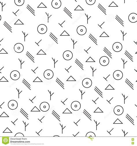 minimalist pattern tumblr modelo minimalista con formas geom 233 tricas ilustraci 243 n del