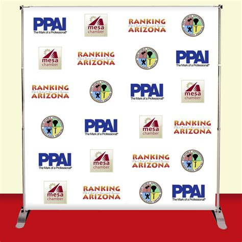 8x8 Backdrop Banner Stand Step And Repeat Banner Firefly Graphics 8x8 Step And Repeat Template