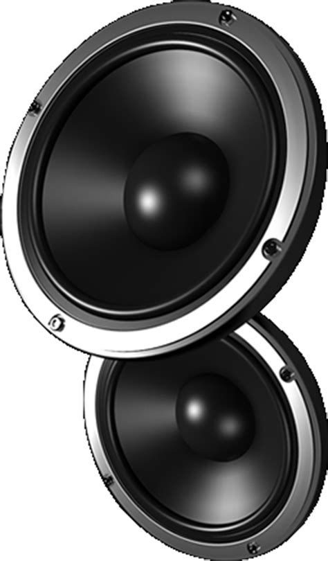 Speaker The Real Subwoofer real speaker png www pixshark images galleries