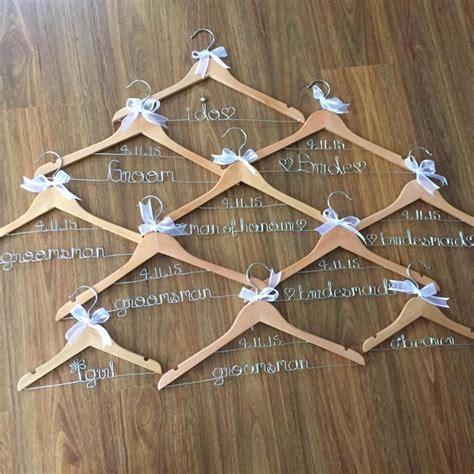wedding coat hangers australia wedding hangers personalised coat hangers wire