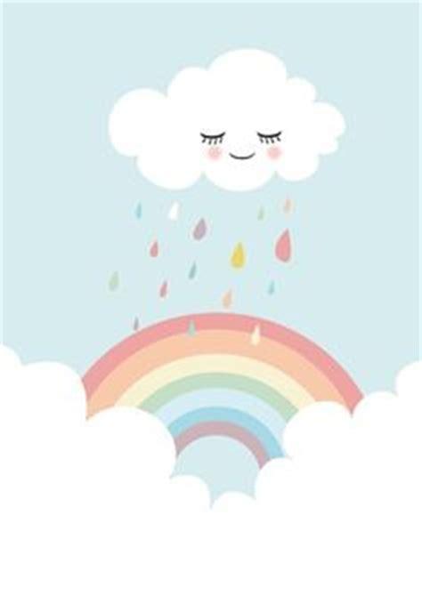nuvem com gotas coloridas festa chuva de amor festa