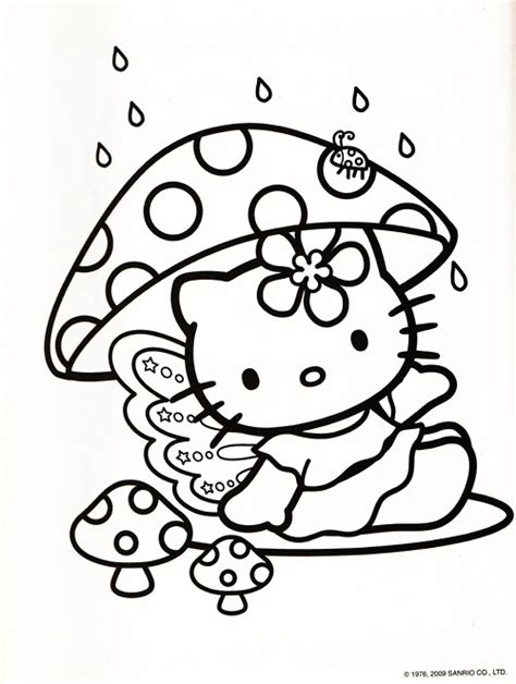 hello kitty fall coloring page 1000 images about kid zone colouring pages on pinterest