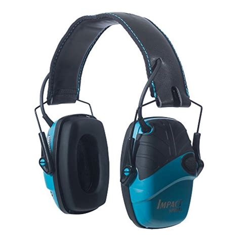 Howard Leight Shooting Combo Earmuffs Glasses Green R 01761 howard leight by honeywell impact sport sound lification electronic shooting earmuff teal r