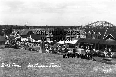 boat store des moines 1948 des moines iowa state fair roller coaster photo coca