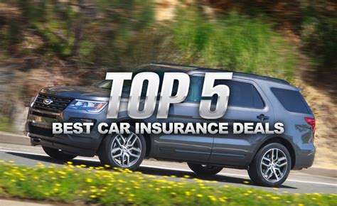 top   car insurance deals