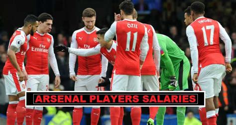 arsenal players 2017 18 arsenal players salaries 2018 weekly wages revealed