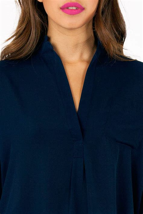molly pocket blouse tobi