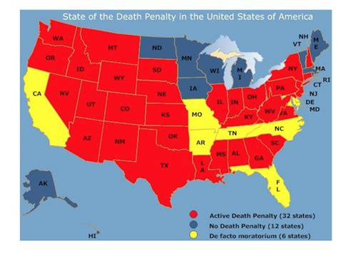 map of us states that the penalty capital the political argument alan
