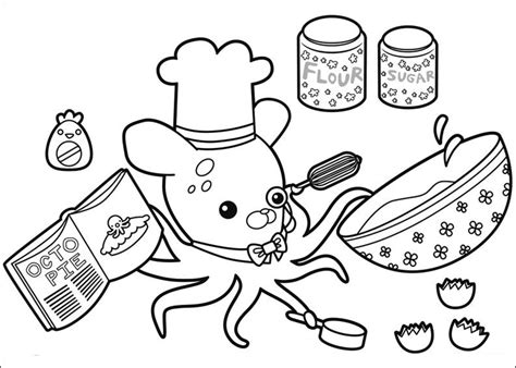 Octonauts Coloring Pages To Download And Print For Free Printable Octonauts Coloring Pages