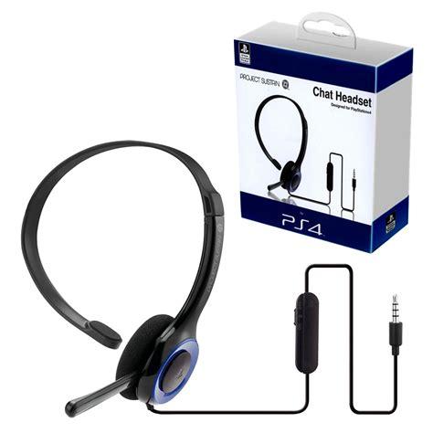 Original Mono Headset Wired Earphone For Ps4 Headphone Headset Murah venom officially licensed ps4 play station 4 mono chat headset vs2792 ebay