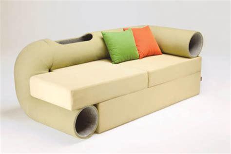 cat sofa smart space saving hybrid furniture cat tunnel sofa