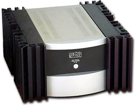 Bookshelf Stand Mark Levinson No 331 Power Amplifier Stereophile Com