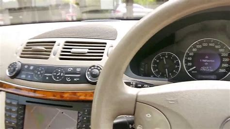 2003 mercedes benz e320 elegance youtube