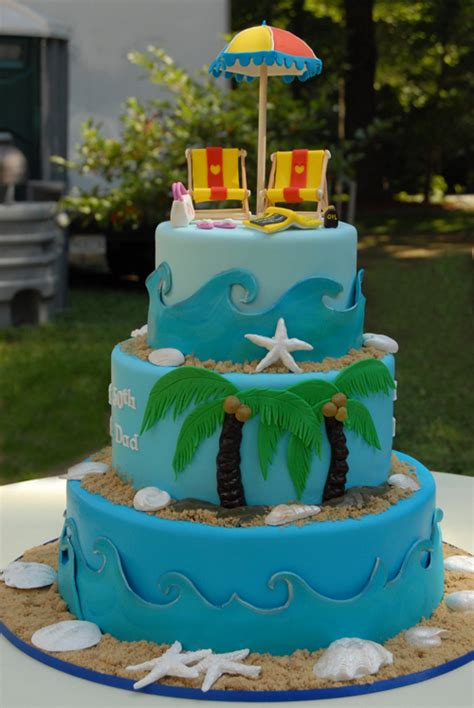 beach themed birthday cakes two sugar babies inspiration beach cakes