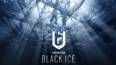 rainbow  siege operation black ice   wallpapers