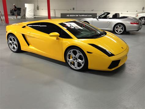 Lamborghini Gallardo 2006 2006 Lamborghini Gallardo Yellow Serviced Exhaust Loud