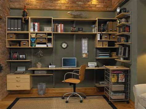 Custom Home Office Storage And Organization Solutions In Home Office Shelving