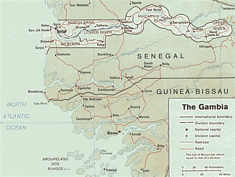 gambia world map gambia map map all maps of the world