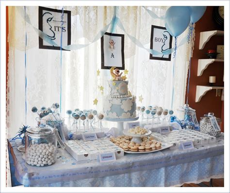 Cake Table Decorations For Baby Shower by Baby Shower Dessert Table Cakecentral
