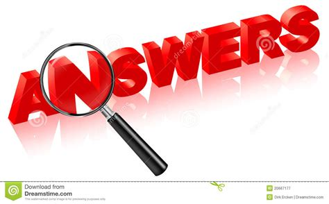 Question Are The Answers questions or comments clipart