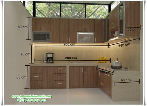 Barang Berkualitas Modern Kitchen Type 1 Promo kitchen set minimalis murah toko mebel minimalis toko