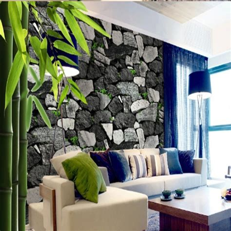 Rooms To Go Free Delivery by Free Shipping 3d Culture Pvc Wallpaper Rock Block