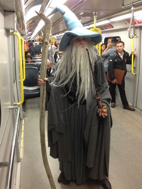 gandalf  grey costume  steps  pictures