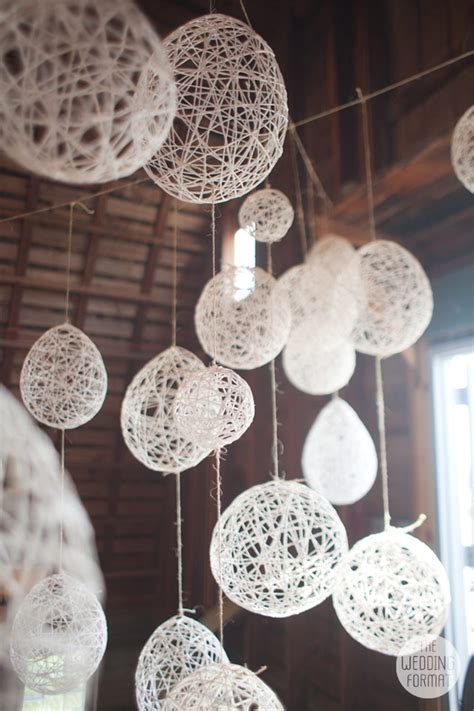 String Balloon Lanterns