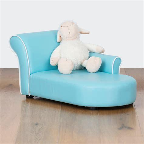 kids chaise bambina kids chaise lounge baby blue modern