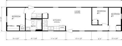 2 Bedroom 1 Bath Mobile Home Floor Plans floor plans american mobile home