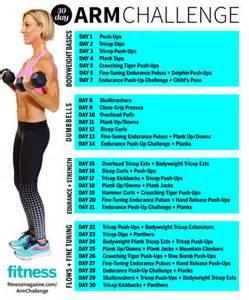 30 day arm challenge chart 30 day arm challenge