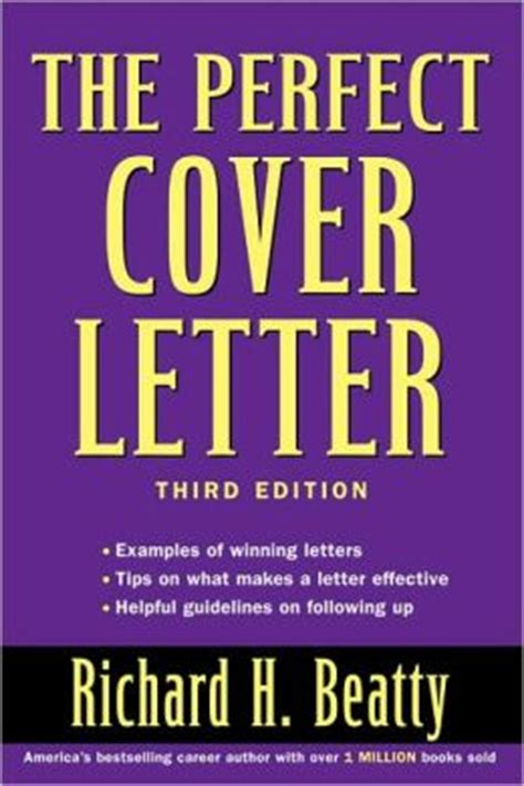 barnes and noble cover letter the cover letter by richard h beatty