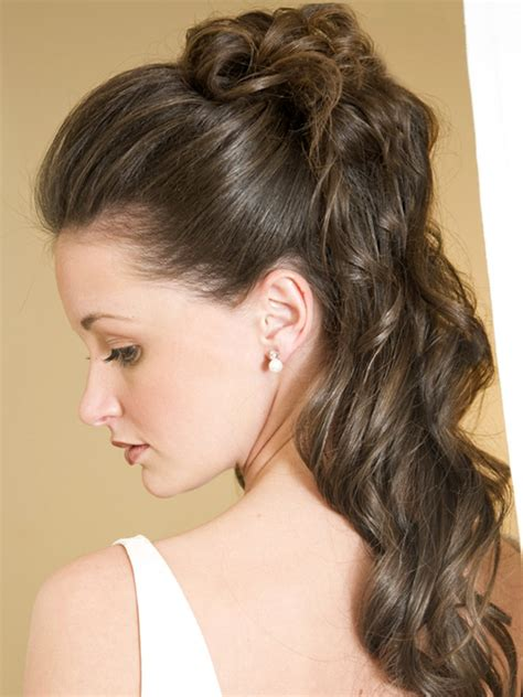 wedding party hairstyles for long happy party idea
